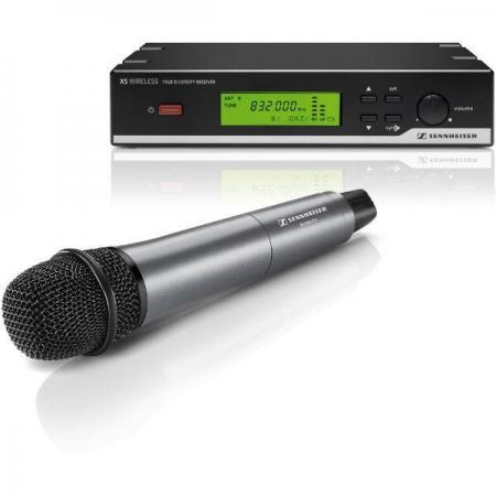 sennheiser xsw 35 vocal set wireless system ch38