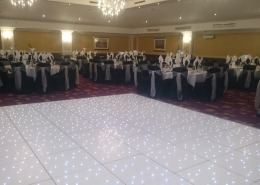 LED Dancefloor at Hilton Avisford Park Arundel
