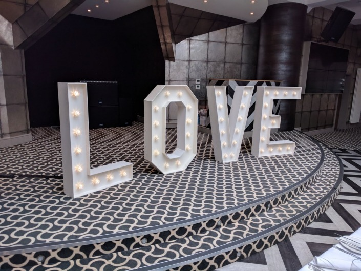 4ft light up love at old thorns hotel and spa
