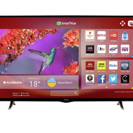 hitachi led smart tv screen