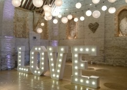 5ft LOVE Tithe Barn