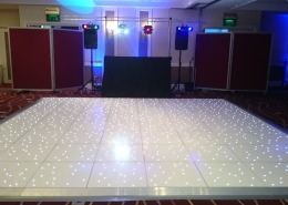 marriott portsmouth white led dancefloor ipod system 2 setup speaker lights