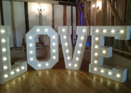 5ft LOVE at Clock Barn Tufton Warren