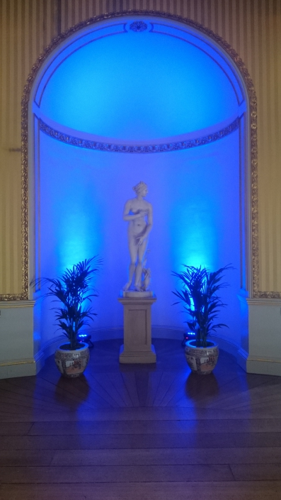 blue uplighters goodwood house e1545041906418