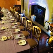 cheltenam chair hire cowdray house with uplighters
