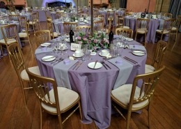 cowdray house gold cheltnam chairs furniture hire 1