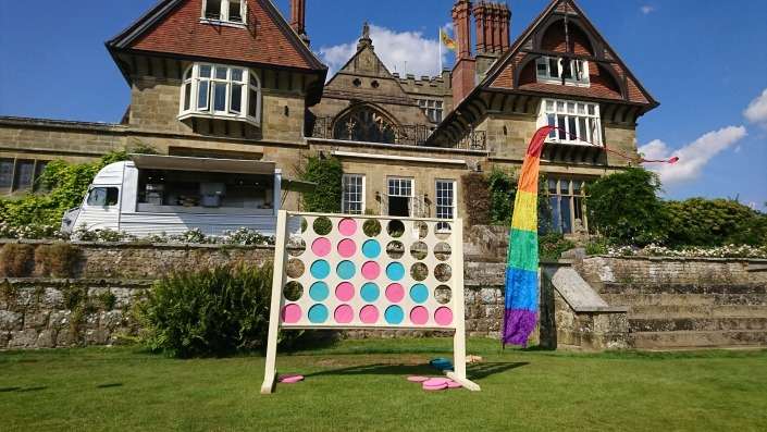 giant connect 4 four at cowdray house midhurst