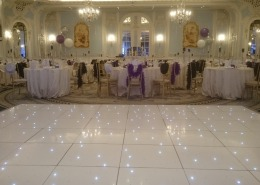 white led dancefloor at claridges london