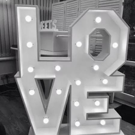 Square Love letters