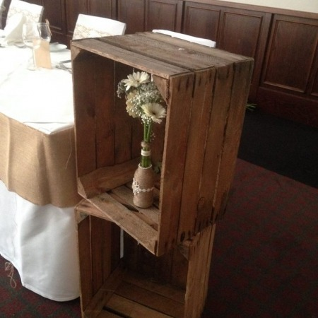 Rustic / Vintage Wooden Apple Crates