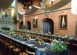 Cowdray House Ceiling Drapes Draping bucks hall
