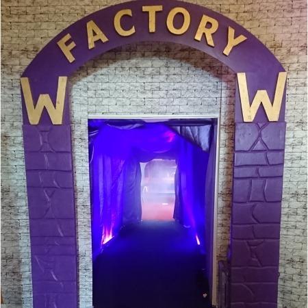 wonka factory chocolate gates entrance