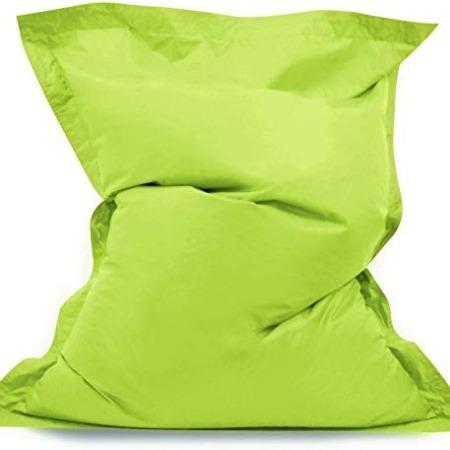 Large Green Bean Bag Beanbag 140 x 91 cm cushion